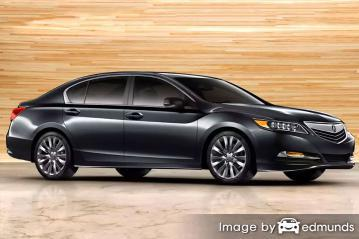 Insurance quote for Acura RLX in Nashville