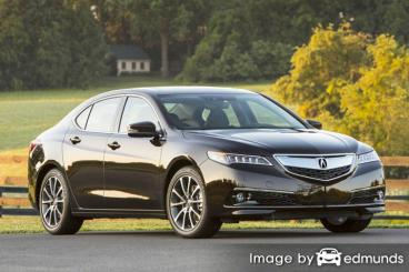 Insurance quote for Acura TLX in Nashville