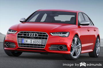 Insurance quote for Audi S6 in Nashville