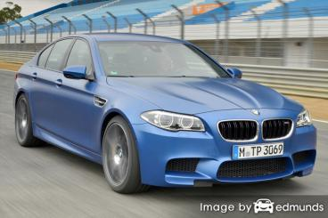 Insurance quote for BMW M5 in Nashville