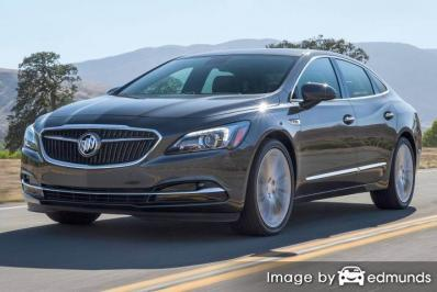 Insurance rates Buick LaCrosse in Nashville