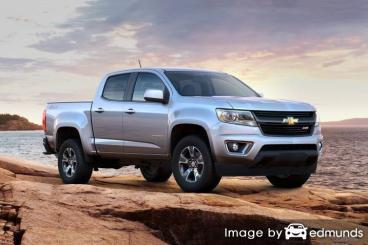 Insurance quote for Chevy Colorado in Nashville