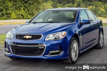 Insurance for Chevy SS