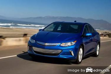 Insurance rates Chevy Volt in Nashville