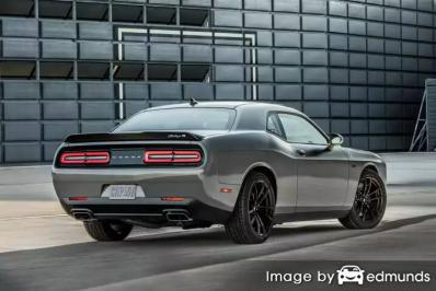 Insurance rates Dodge Challenger in Nashville
