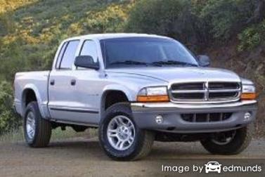 Discount Dodge Dakota insurance