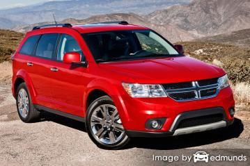 Insurance rates Dodge Journey in Nashville