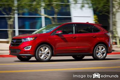 Insurance rates Ford Edge in Nashville