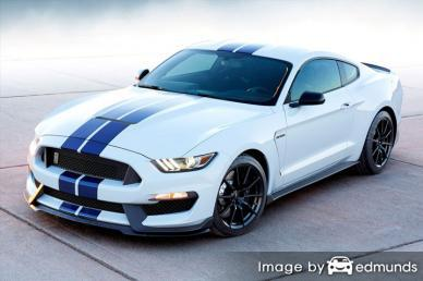 Insurance rates Ford Shelby GT350 in Nashville