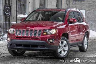 Insurance quote for Jeep Compass in Nashville