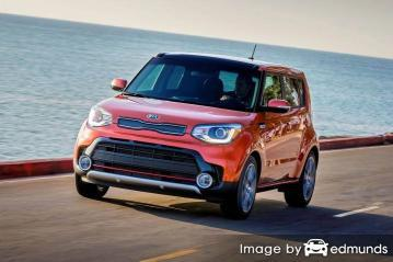 Insurance rates Kia Soul in Nashville