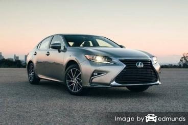 Insurance rates Lexus ES 350 in Nashville