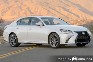 Insurance rates Lexus GS 350 in Nashville