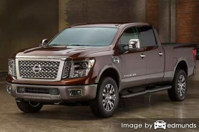 Insurance quote for Nissan Titan XD in Nashville