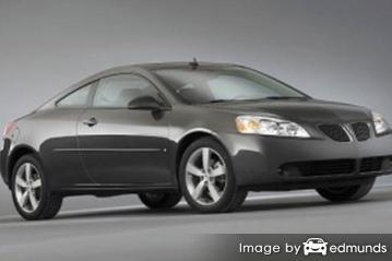 Insurance for Pontiac G6