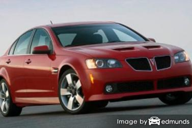Discount Pontiac G8 insurance