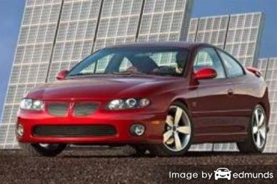 Insurance quote for Pontiac GTO in Nashville