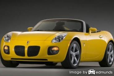 Insurance quote for Pontiac Solstice in Nashville