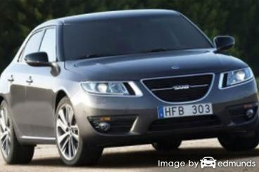 Insurance quote for Saab 9-5 in Nashville