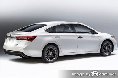 Discount Toyota Avalon Hybrid insurance