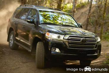Insurance rates Toyota Land Cruiser in Nashville